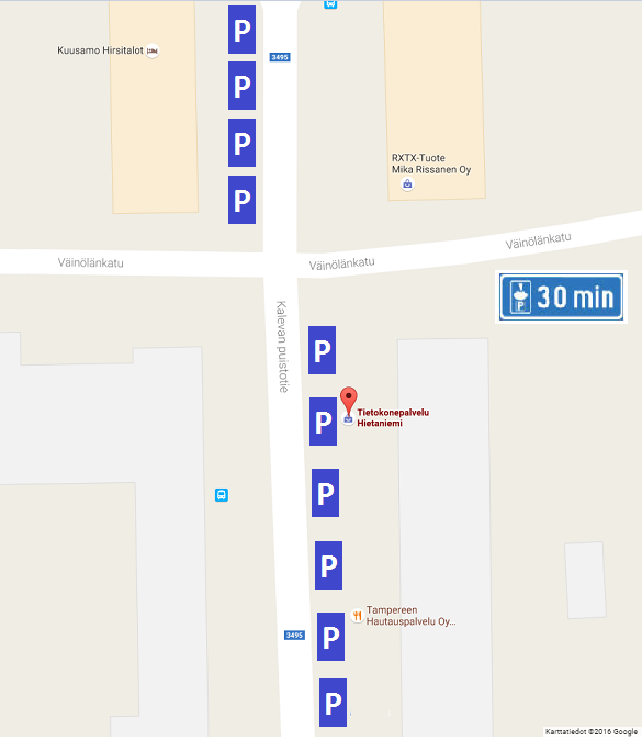 parkkipaikat